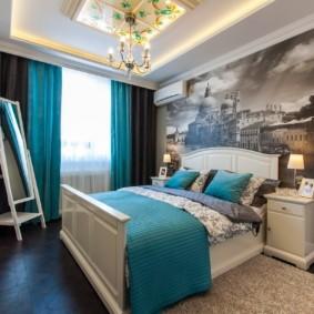 дизайн спальни 12 кв м интерьер идеи