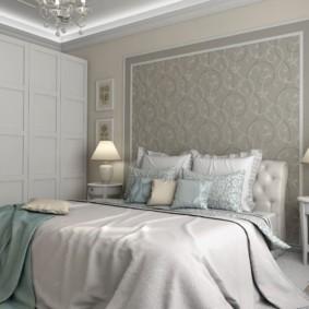 дизайн спальни 12 кв м классика