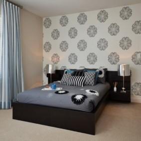дизайн спальни 12 кв м с ковролином