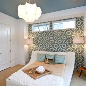 дизайн спальни 12 кв м с линолеумом