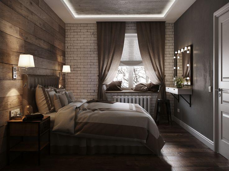 спальная комната в хрущевке