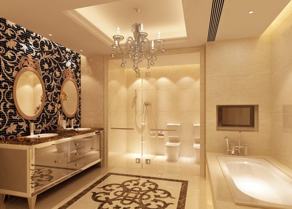 зеркала в ванной барокко
