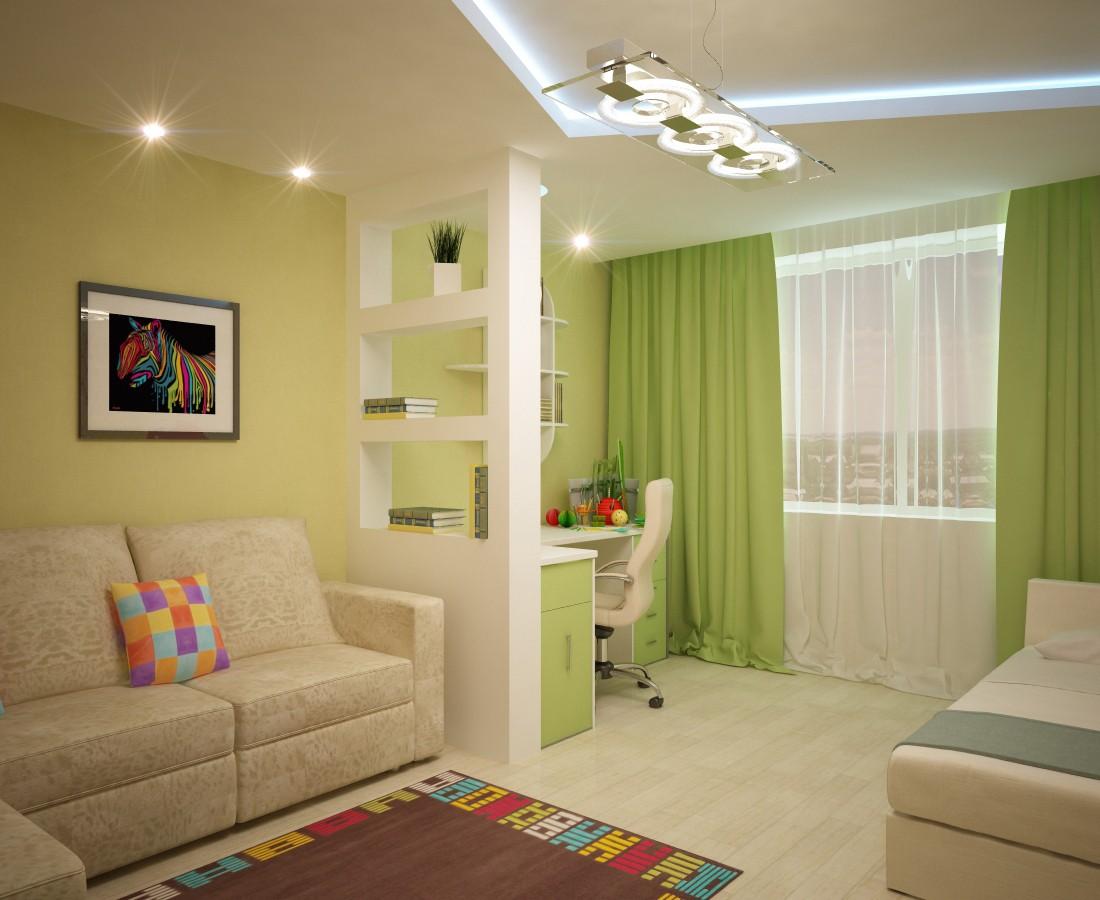 дизайн детской гостиной