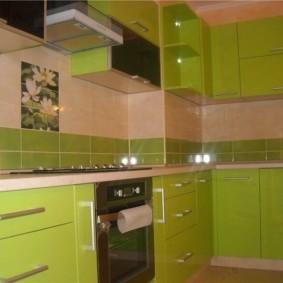 дизайн кухни с вентиляционным коробом встраивание