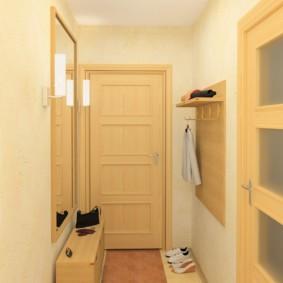 длинный коридор в квартире дизайн фото
