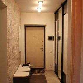 длинный коридор в квартире интерьер идеи