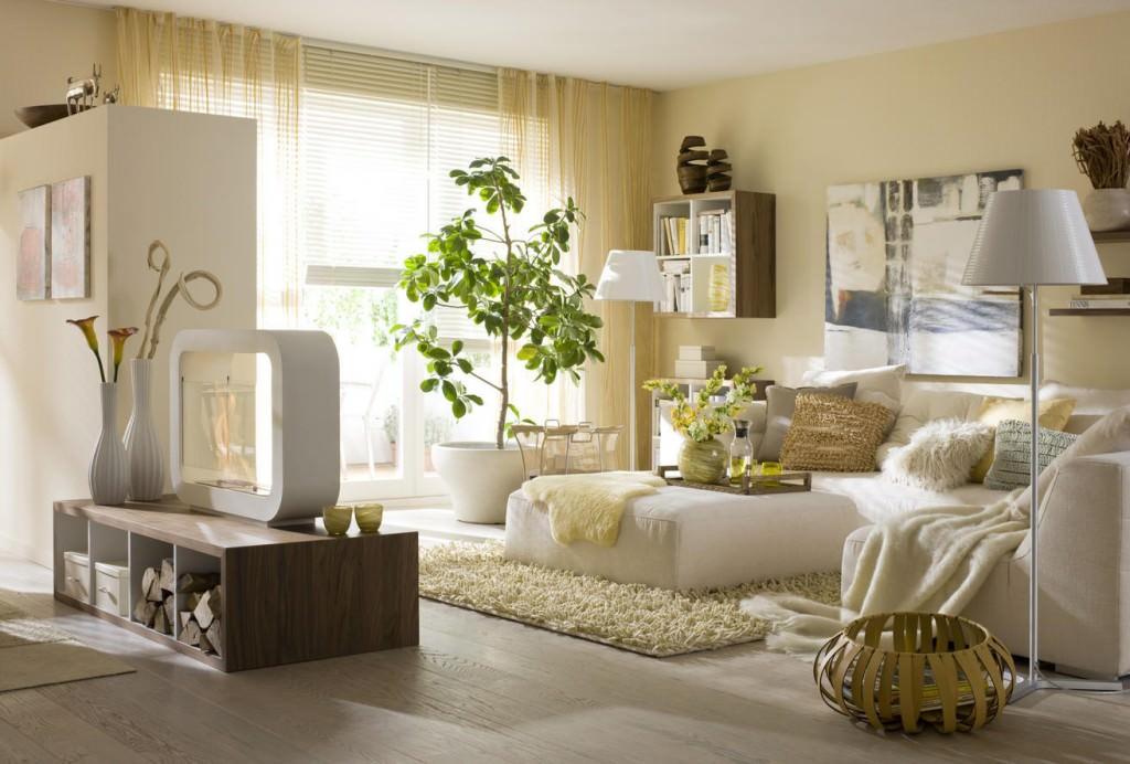 эко стиль в квартире декор