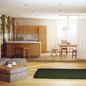 эко стиль в квартире фото