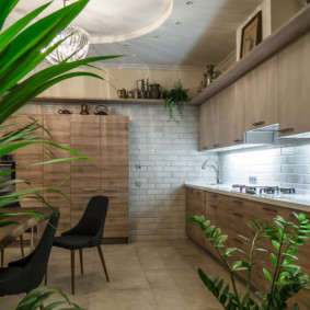 эко стиль в квартире фото интерьер