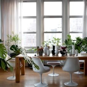 эко стиль в квартире фото интерьера