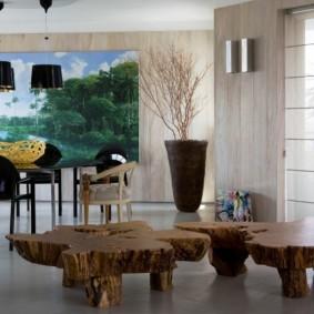 эко стиль в квартире идеи фото
