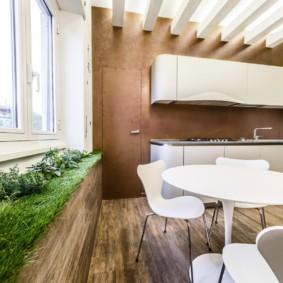эко стиль в квартире варианты