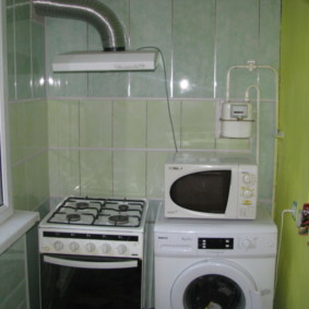 Стиральная машинка на лоджии панельного дома