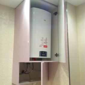 Шкаф из ДСП для газового котла