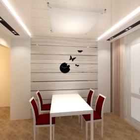 Дизайн обеденной зоны кухни в современном стиле
