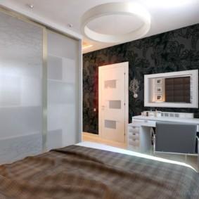 Современная спальня в стиле минимализма