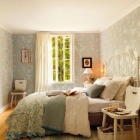 Дизайн красивой спальни в пастельных тонах