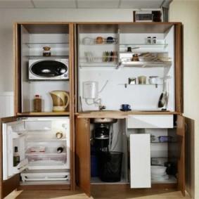 Кухонный модуль со встроенной техникой