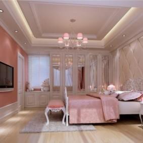 Дизайн спального помещения в стиле классики