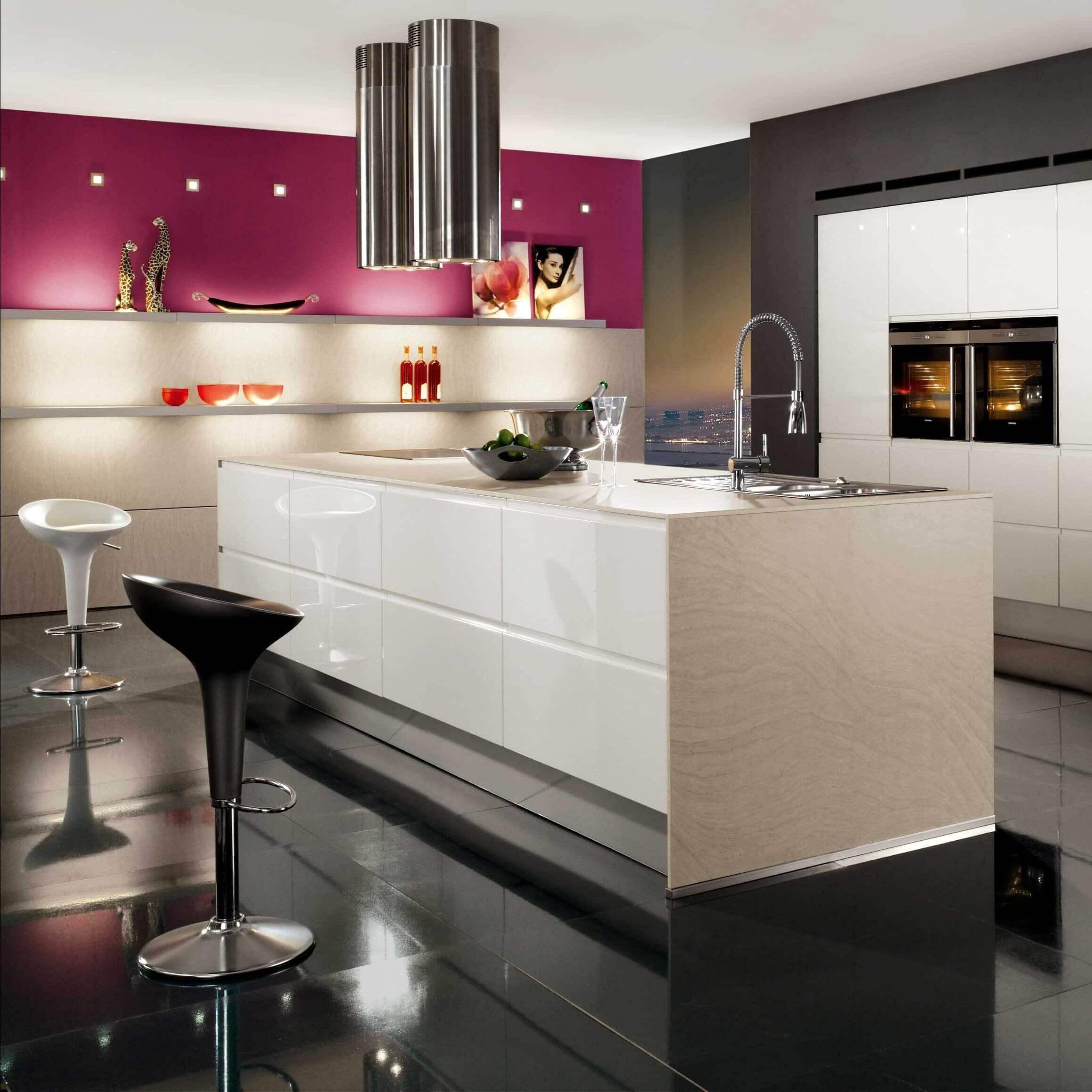 Фото кухонь розового цвета фотосессия
