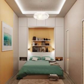 Светодиодная подсветка потолка спальни