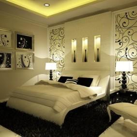 Декоративные ниши со встроенной подсветкой