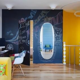 Дизайн детской комнаты для ребенка школьного взраста