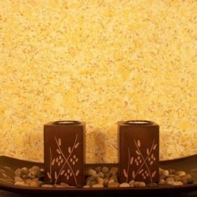 Отделка стены кухни в восточном стиле