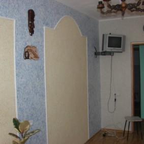 Отделка стены в классическом стиле