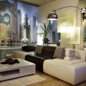 фотообои в гостиной фото декор