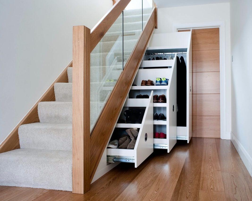 этой места хранения под лестницей фото внешний вид