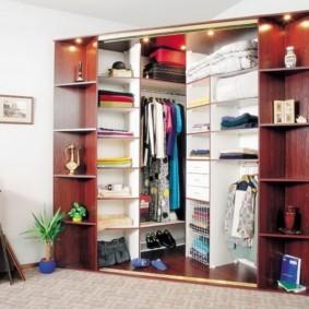 гардеробная в спальне идеи дизайн