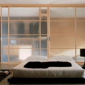 гардеробная в спальне декор фото