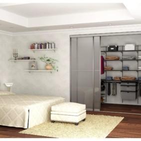 гардеробная в спальне декор идеи