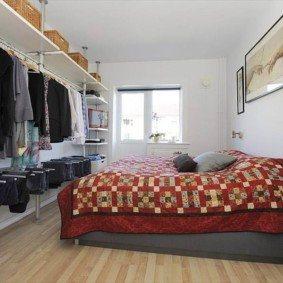 гардеробная в спальне идеи декора