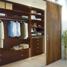 гардеробная в спальне фото интерьер