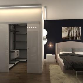 гардеробная в спальне варианты фото