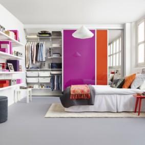 гардеробная в спальне фото вариантов