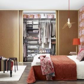 гардеробная в спальне идеи варианты