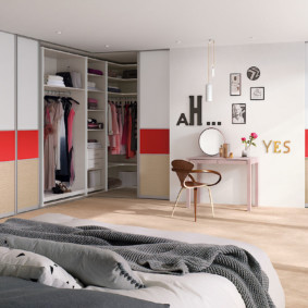 гардеробная в спальне фото видов