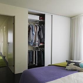 гардеробная в спальне виды идеи