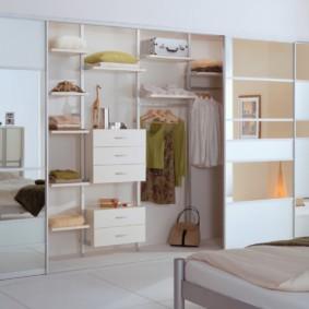 гардеробная в спальне идеи видов