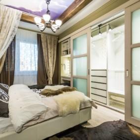 гардеробная в спальне оформление