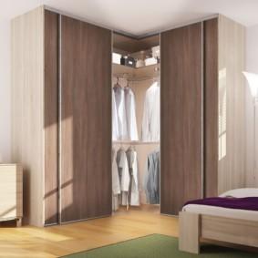 гардеробная в спальне виды декора