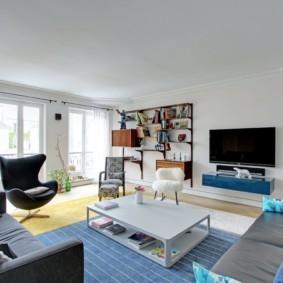 гостиная 19 кв метров фото дизайна