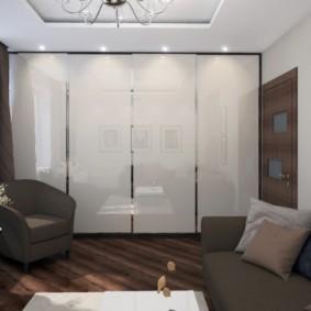гостиная 19 кв метров фото интерьера