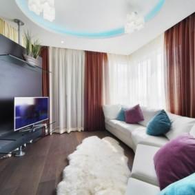 гостиная 19 кв метров интерьер идеи