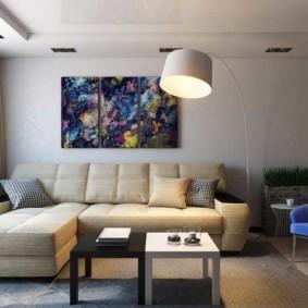 гостиная 19 кв метров виды