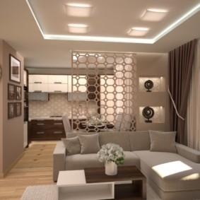 гостиная 19 кв метров декор