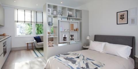 гостиная и спальня в одной комнате идеи варианты